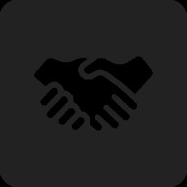 partnership icon shaking hands
