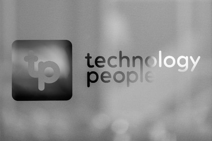 Technology People door sign