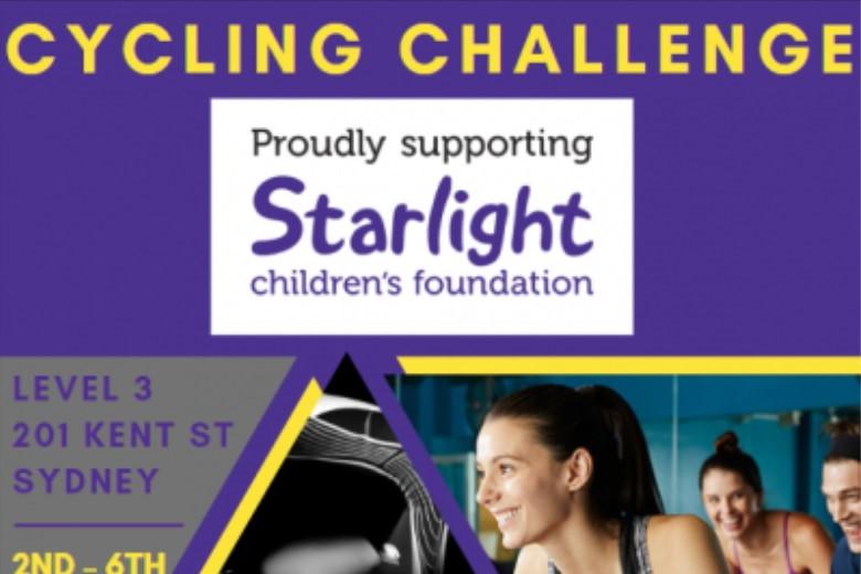 5-day Bike Challenge Starlight Foundation