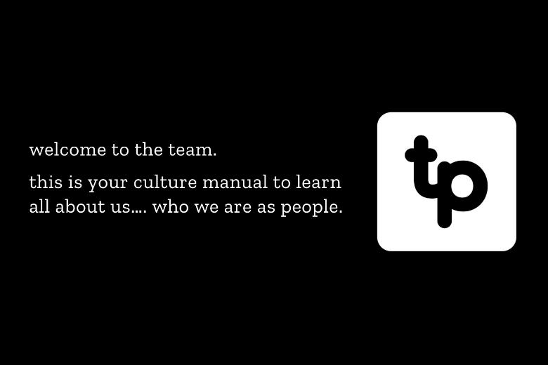 team culture manual